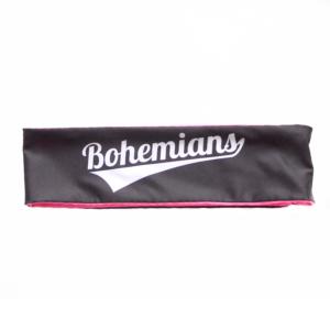 Čelenka Bohemians - černo/růžová
