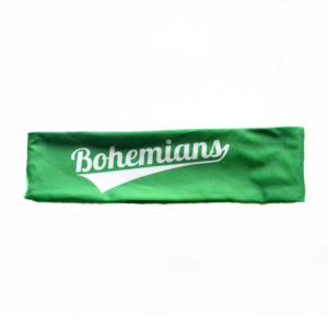 Čelenka Bohemians - zeleno/bílá