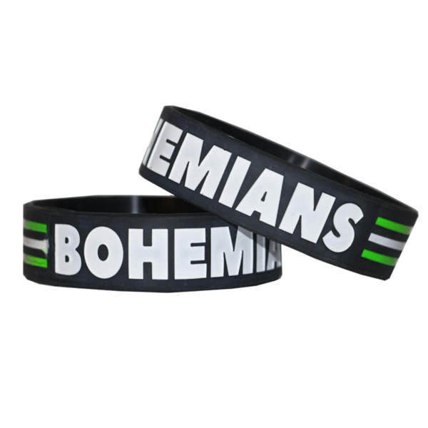 Náramek FbŠ Bohemians- černý