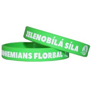 Náramek FbŠ Bohemians - zelený