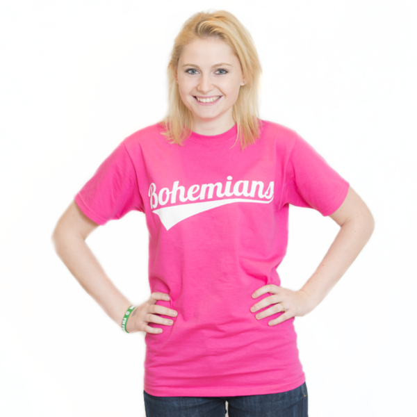 Tričko Bohemians - růžové