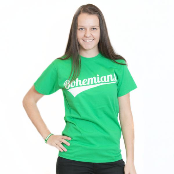 Tričko Bohemians - zelené 2