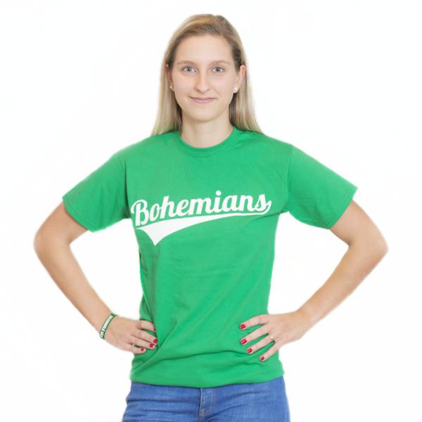 Tričko Bohemians - zelené 3