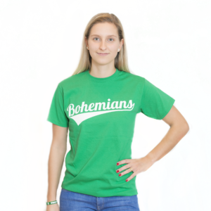 Tričko Bohemians - zelené