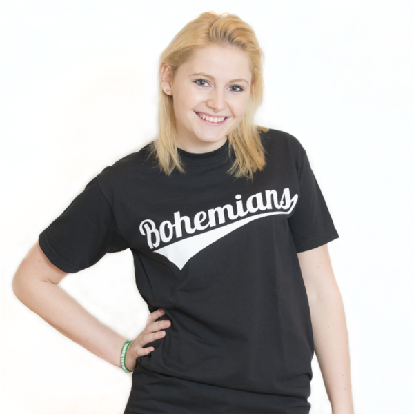 Tričko Bohemians - černé