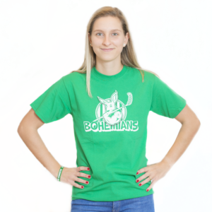 Tričko s klokanem - zelené