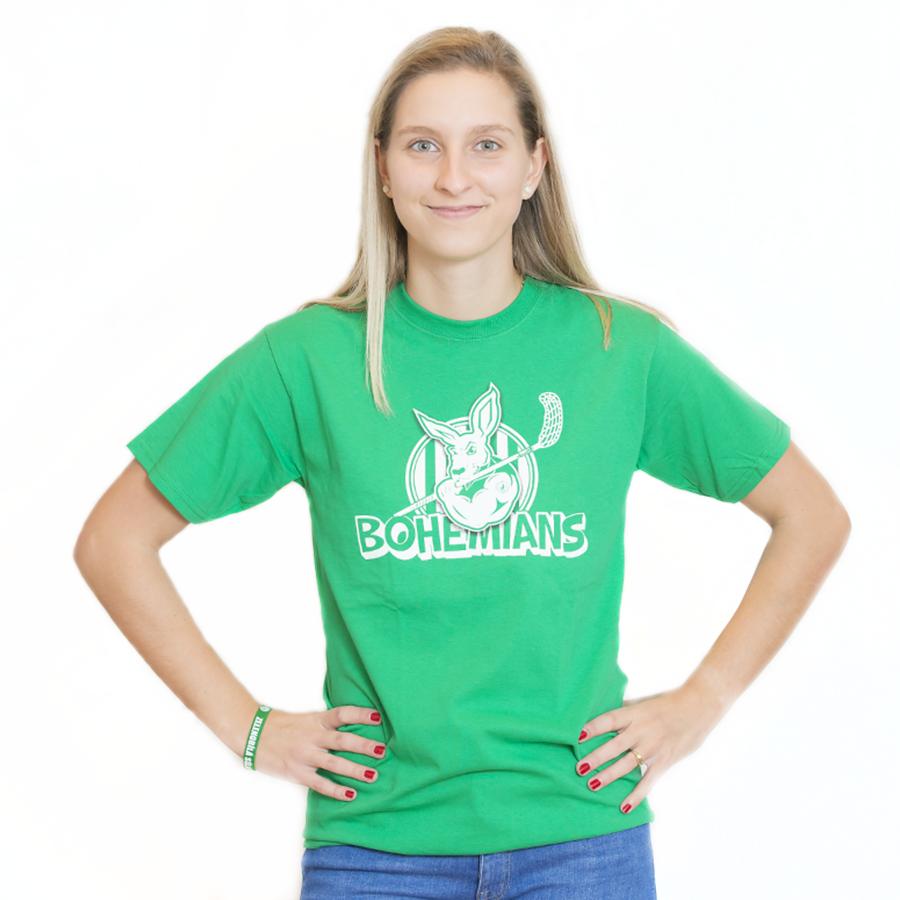 7af9a1b014df Tričko s klokanem - zelené - Eshop FBŠ Bohemians