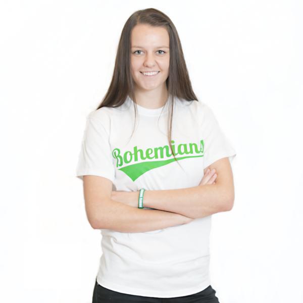 tričko - bohemians - bílé