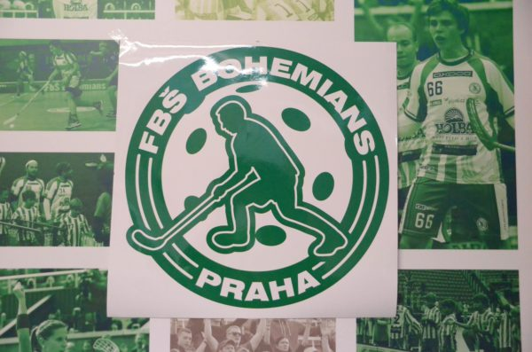 Samolepka velká – Logo FbŠ Bohemians