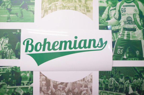 Samolepka velká – Bohemians